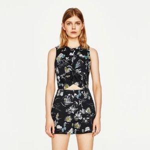 Zara Cut-Out Romper